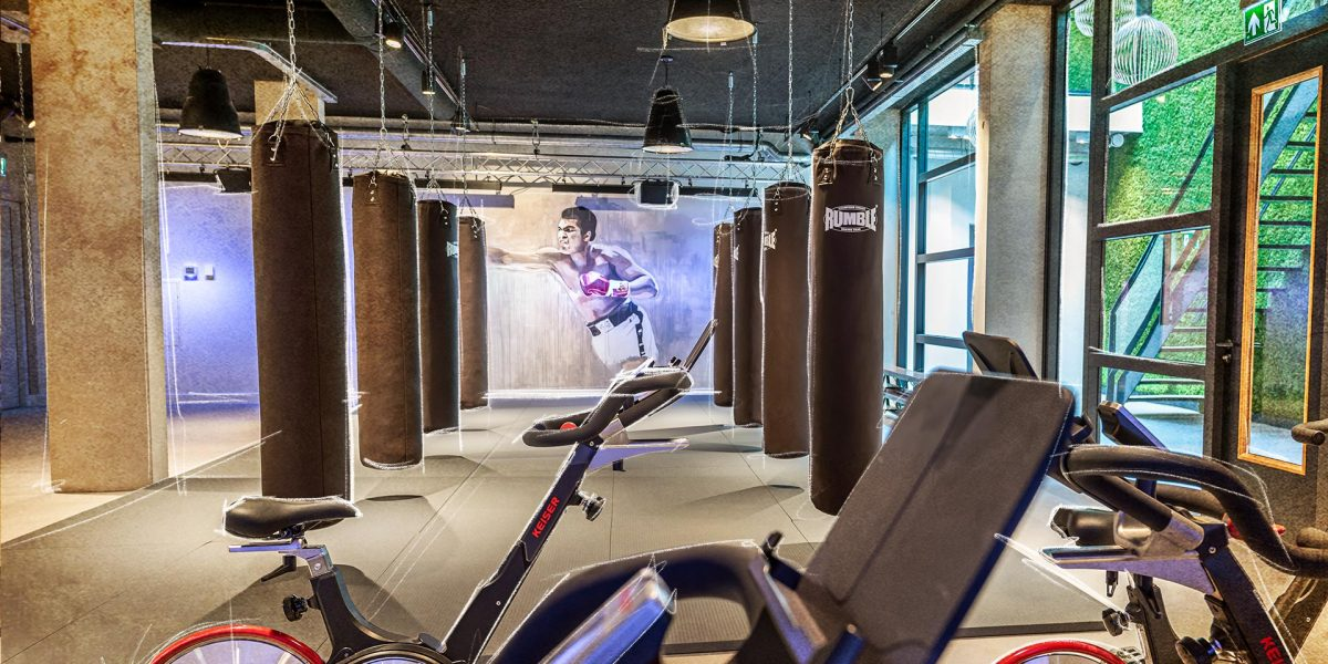 Plan Nijverdal | Boxing en Spinning Area